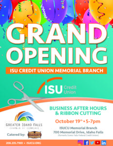 Business After Hours at ISU Credit Union
