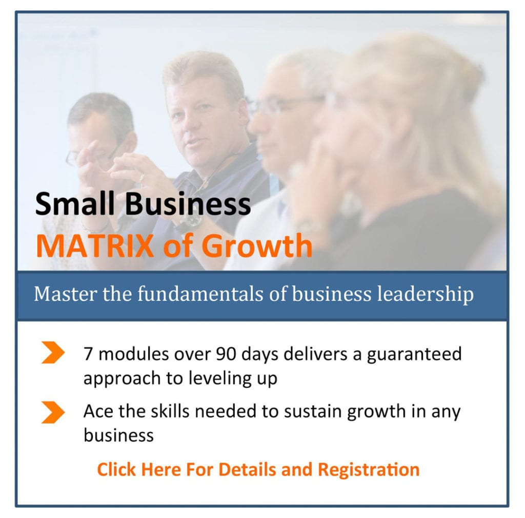 Matrix of Growth